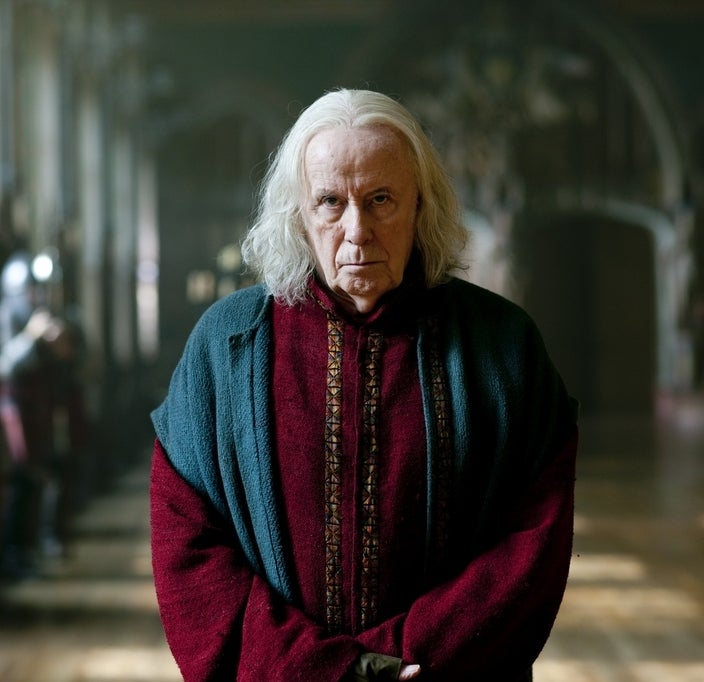 As Gaius on Merlin