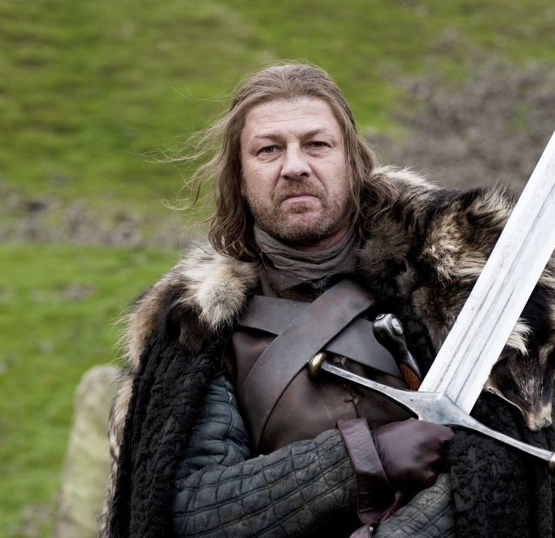 As Eddard 'Ned' Stark on Game of Thrones