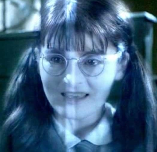 As Moaning Myrtle in Harry Potter and The Chamber of Secrets