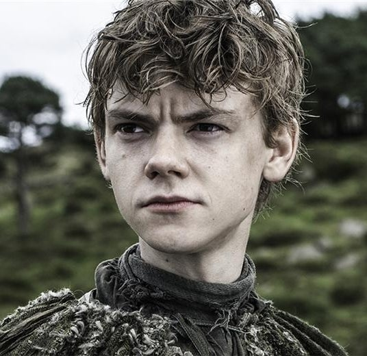 As Jojen Reed on Game of Thrones
