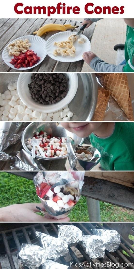 Make campfire cones!