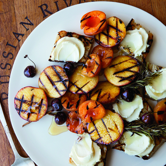 Actually, grill all the fruit.