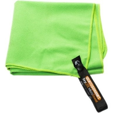 Bring microfiber towels — they're super absorbent and lightweight.