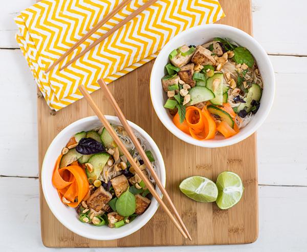 Thai Tofu and Noodle Salad