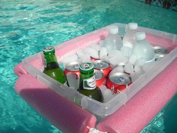 DIY a floating bar.