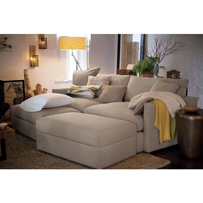 Lounge sofa from Crate and Barrel. 19 Couches That Ensure You ll Never Leave Your Home Again