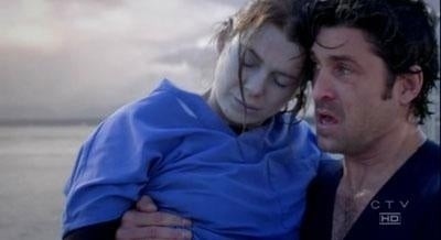 """Short-Term Effect: 8. A ferry crashes into the shore causing major damage, and many major characters are effected, but it mostly focuses on Meredith, who is pushed into the water and nearly drowns, causing a lot of heartache for all major characters.Long Term Effects: 2. Aside from nearly dying, Meredith is not much changed,and the story line does not improve, although some might say it was the catalyst for Meredith and Derek to break up, Meredith to go to therapy, and finally, for the two to get back together. Again.Taylor Swift need not apply to this relationship.Season 3, Episode 16, """"Drowning On Dry Land"""""""