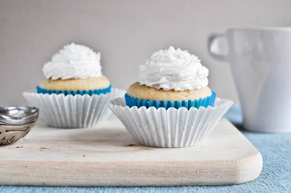 """This recipe is written for just two cute little cupcakes (for you and """"a friend"""") but you could always scale up."""