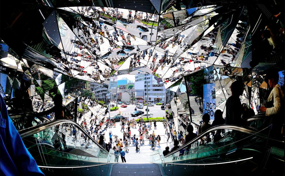 """""""Omotesando Entrance"""", de Hiroshi Nakamura"""