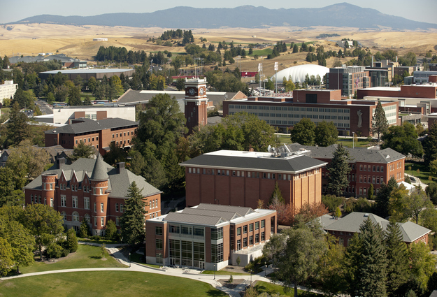 Washington State University Campus Map Old Administration Building