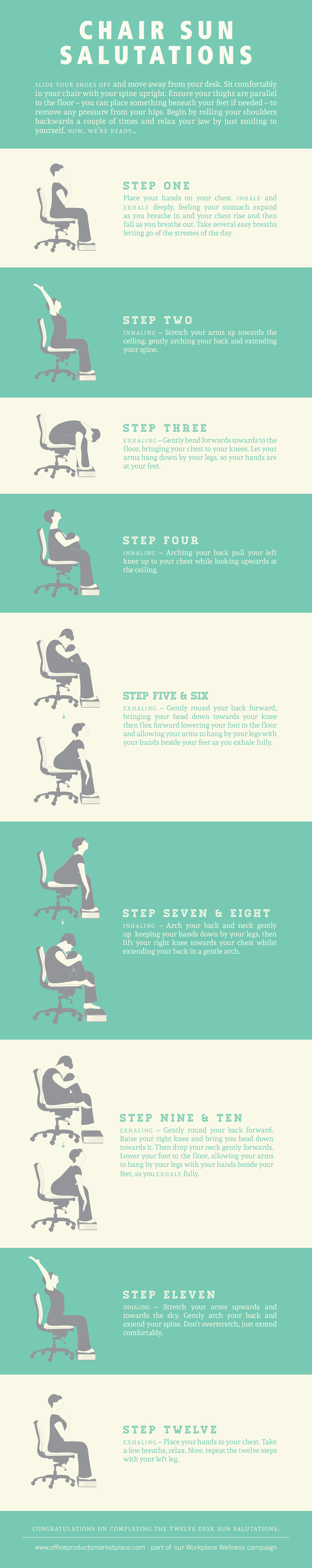 Desk Exercises To Make The Most Of Your Workday
