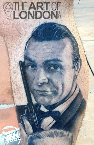 15 of the best and worst james bond tattoos for Sean connery tattoos