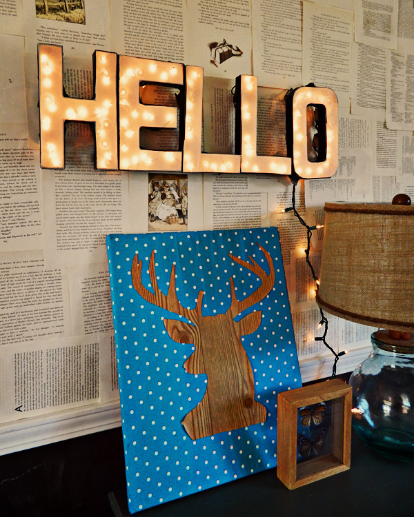 Instead Of Simply Hanging Twinkle Lights, Turn Them Into A Custom Marquee  Sign. Part 85