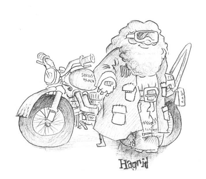 Mr Weasley Eventually Fixed Sirius Blacks Motorcycle And Gave It To Harry