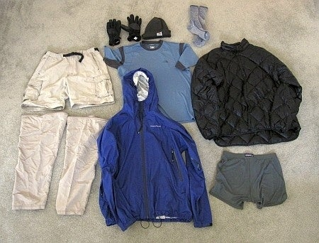 It retains moisture/sweat and doesn't insulate properly in the cold. Many, many more reasons not to wear cotton when you're hiking can be found here.
