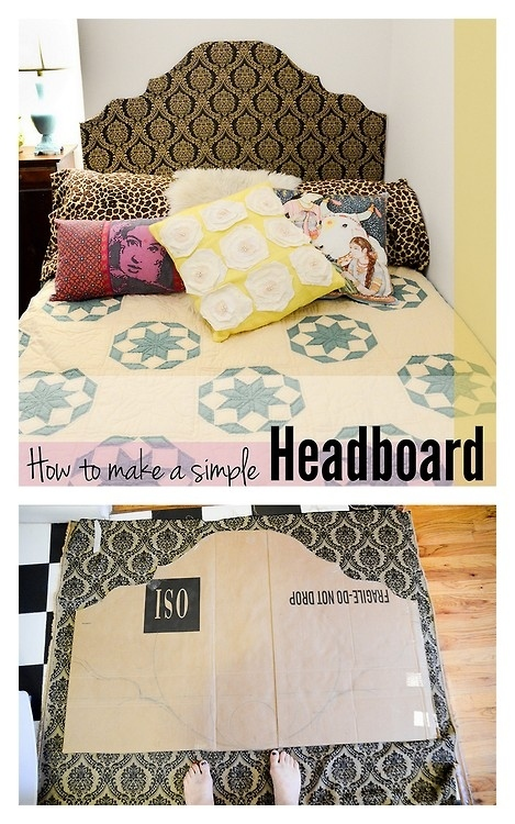 This Super Easy Headboard Is Made From Stuff You Probably Have Lying Around  And Makes A Part 15