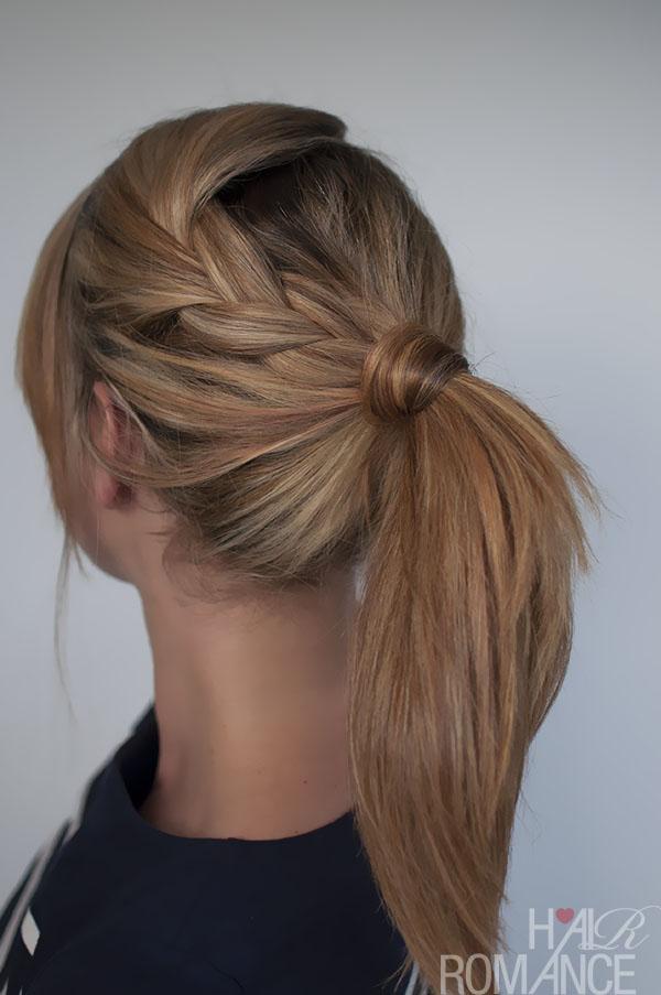 Magnificent 25 Ways To Up Your Ponytail Game Short Hairstyles Gunalazisus