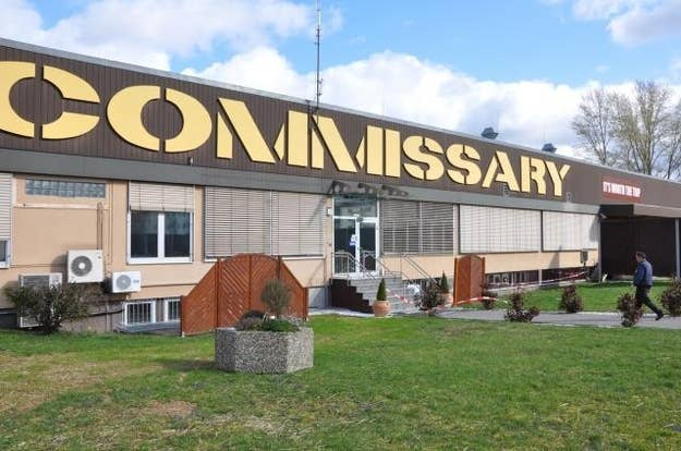 It is, and forever will be, the commissary.