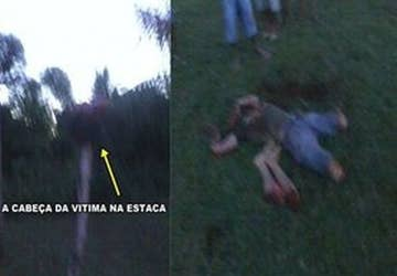 Extremely Graphic Video Surfaces Of Beheaded Brazilian