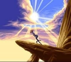Yeezus actually thinks he's a God, and Mufasa kind of was one. What more fitting way to debut North than to hold her high from a cliff while all the minions gather below? Elton John will play in the background.