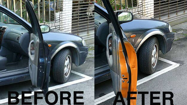 21 insanely clever tricks to vastly improve your car paint or use reflective tape inside your car door so its more noticeable to passing traffic solutioingenieria Choice Image