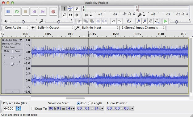 You can use a program like Audacity or VLC media player to do this.