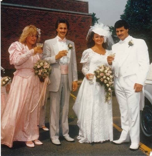 27 of the most amazing 80s weddings youll ever see 3 junglespirit Gallery