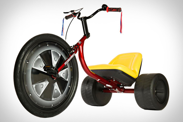 Relive The Glory Days Of Your Childhood With This Adult Size Big Wheel  ($650)