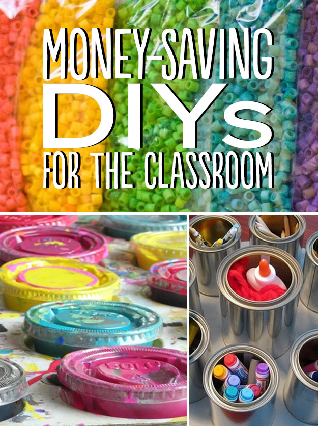 35 Money-Saving DIYs For Teachers On A Budget
