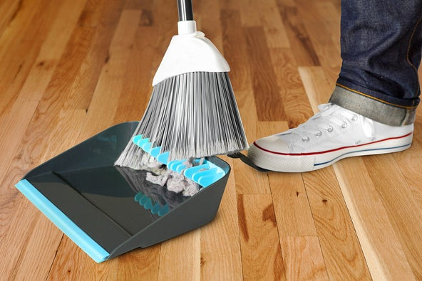 """""""A Sweeping Improvement In Dustpans."""" Yup. $11.99 from Quirky."""
