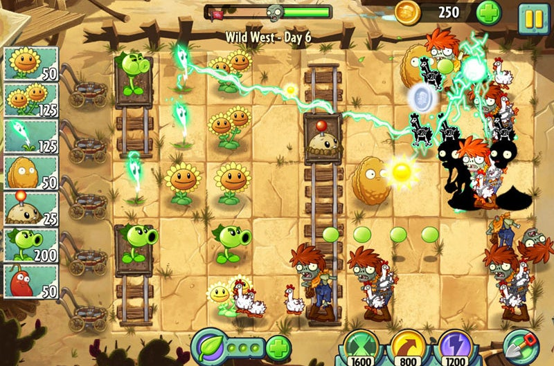 Plants Vs. Zombies 2: About Time / EA