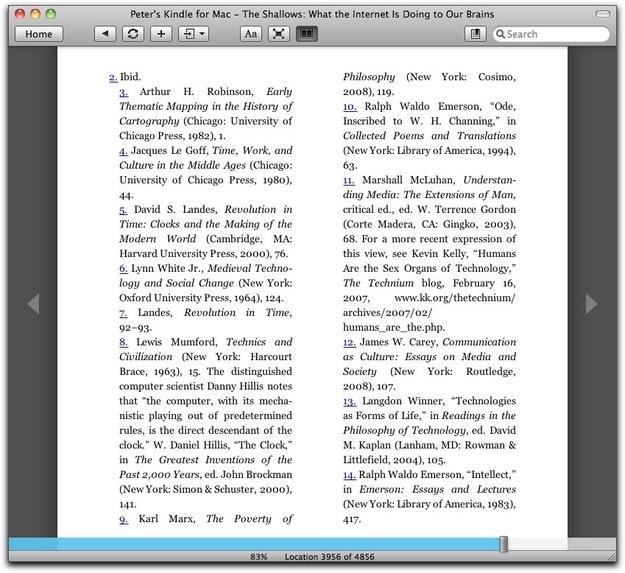 where do endnotes go in an essay