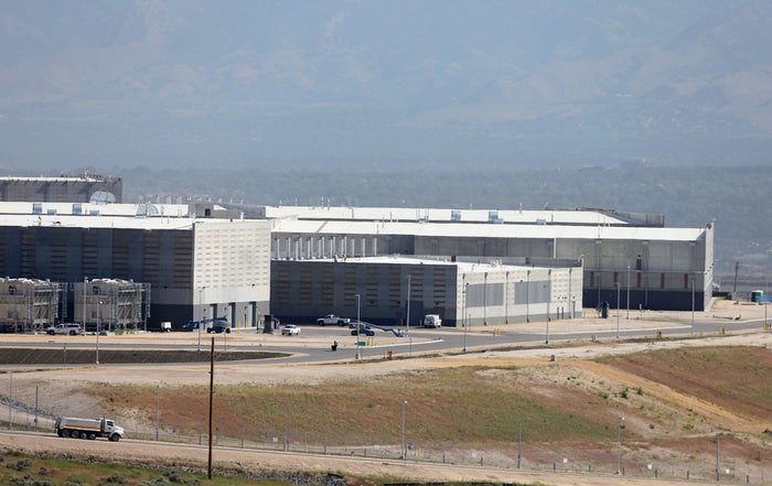 A new National Security Agency facility in Utah.