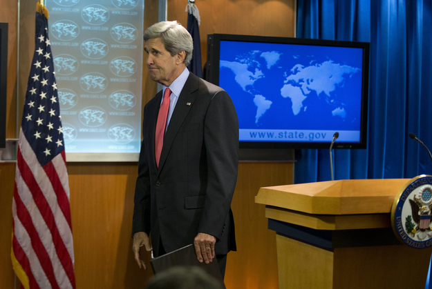 "John Kerry Calls Syria's Use Of Chemical Weapons ""Undeniable"""