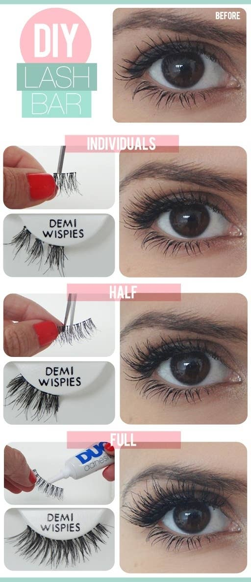 You Need To Stop Thinking Its Impossible To Wear False Eyelashes