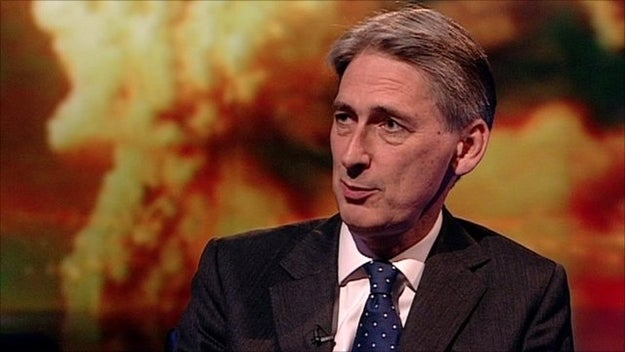 A stunned Philip Hammond faces the music