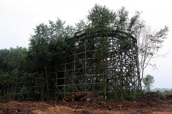 Chippewa Lake theme park opened in 1878 and closed exactly 100 years later, leaving this beast behind.