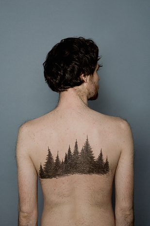 Tree Outline Tattoo