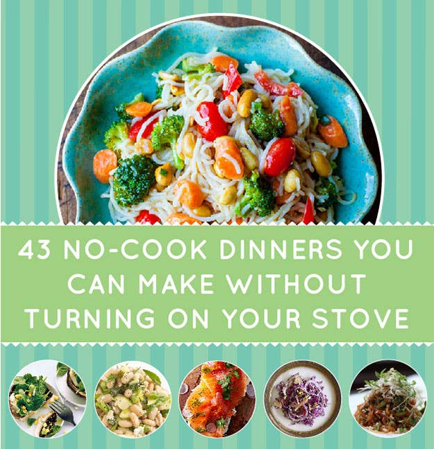 43 no cook dinners you can make without turning on your stove share on facebook share forumfinder Gallery