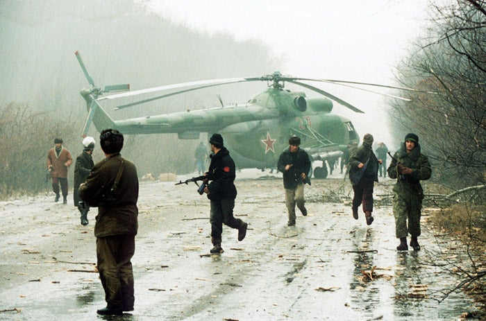 The First Chechen War began in 1994 as Russian forces entered the area to try and oust rebels from control. A 1996 ceasefire ended the devastating war, with thousands of Russian troops killed, an estimated 17,000 Chechen troops killed or missing, at least 161 Russian civilians killed in related terrorist attacks, and between 50,000-100,000 Chechen civilians killed in the war.A Second Chechen War involving Russia started in 1999, after a radical Islamist group invaded nearby Dagestan. Though the battle phase ended in 2000, since then, terrorist attacks have routinely killed civilians in Russia.