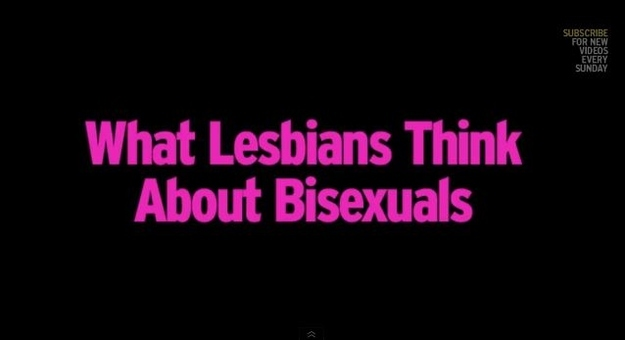 What lesbians think about bisexuals