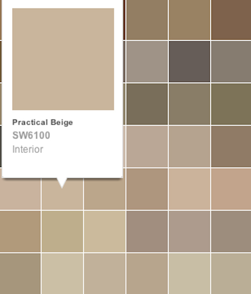 The gallery for practical beige sherwin williams for Best beige paint color sherwin williams