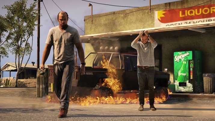 I Finished Grand Theft Auto V In One Hour Sitting - Guy takes pictures showing just realistic grand theft auto v looks