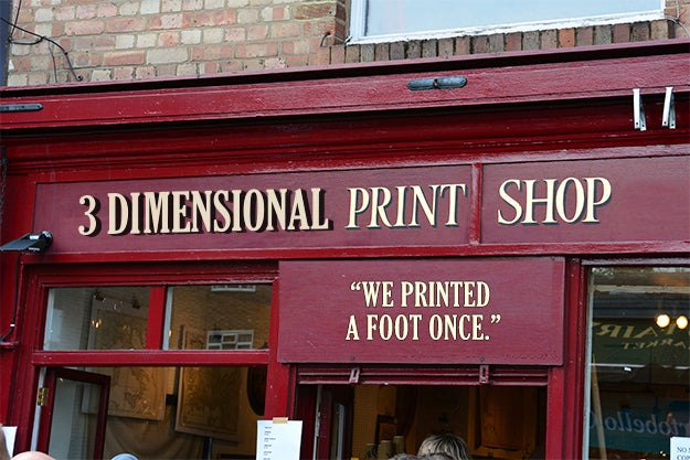 Printing is leaping off of the page and changing the world in big, big ways. And yes, they even made feet for disabled ducks.