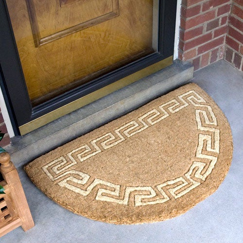Especially after muddy days. Learn how to clean your coir doormat here.