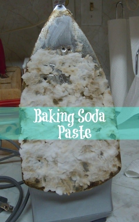 You do iron your clothes, right? Make your iron shiny and new again with baking soda.