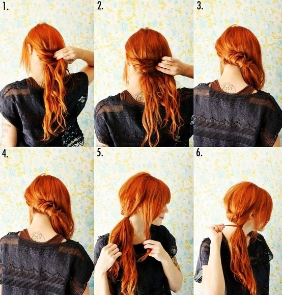 Wondrous 23 Five Minute Hairstyles For Busy Mornings Hairstyle Inspiration Daily Dogsangcom