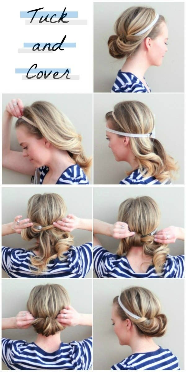 Cute Hairstyles For Medium Length Hair Easy : 23 five minute hairstyles for busy mornings
