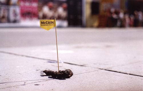 Sh*tty McCain Sign