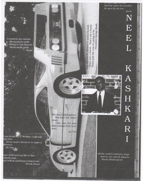 Neel Kashkari's Yearbook